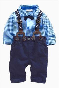 Fashion Vertical Thin Blue Line American Flag Onesies U99oi-9 Long Sleeve Cotton Bodysuit for Baby Girls Boys