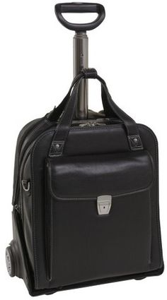 Buy the Siamod Pastenello Vernazza Collection Vertical Wheeled Laptop Case at eBags - The rolling laptop case takes on a whole new look with this uniquely constructed fashion case from S Rolling Laptop Case, Leather Laptop Case, Laptop Tote Bag, Laptop Briefcase, Napa Leather, Black Leather Bags, Computer Bags, Bago, Bag Sale