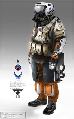 Soldier Design, Edon Guraziu on ArtStation at http://www.artstation.com/artwork/soldier-design