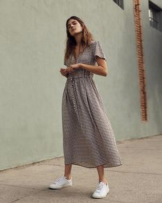 44 New Long Skirt Outfits Ideas For Going Out – Trendy Fashion Ideas Modest Summer Outfits, Long Skirt Outfits, Cute Summer Dresses, Cute Dresses, Fall Outfits, Casual Dresses, Casual Outfits, Cute Outfits, Casual Summer