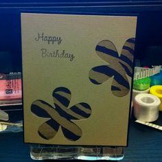 Birthday hand made card!!