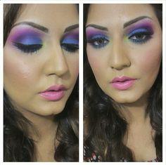 I love blue/purple palettes!