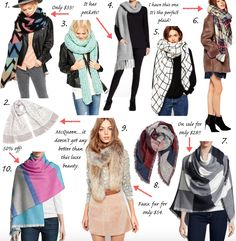 33 best scarves to gift this Christmas!