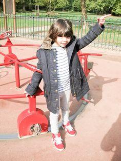 Look at me, en el parque !