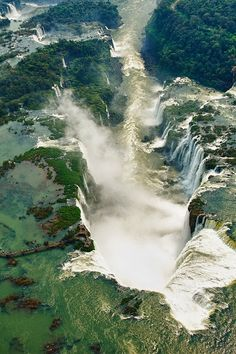 Iguazu Falls - stunningly beautiful. The Argentine side is like walking through a fairy tale and the Brazilian side is majestically powerful.