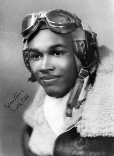 Tuskegee Airman Alfonso Harris
