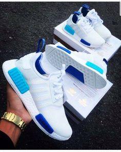 "Adidas NMD R1 ""White Blue Glow"""