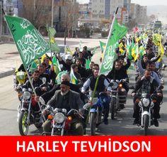 HARLEY TEVHİDSON :)  #mizah #matrak #komik #espri #şaka #gırgır #komiksözler #caps #harleydavidson #tevhidbayrağı