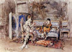 Giovanni Boldini, La conversazione, 1870