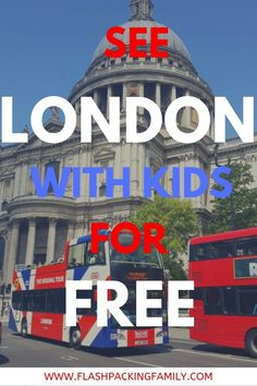 Visiting London with kids can be quite expensive but there are many free things to do in London with kids that will help keep your budget down Things To Do In London, Free Things To Do, Free London Attractions, Travel With Kids, Family Travel, London With Kids, European Road Trip, Europe Travel Tips, Travel Uk