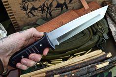 CFK USA Ipak Survival Custom Handmade D2 Tanto Combat Hunter Battle Raptor Knife | eBay