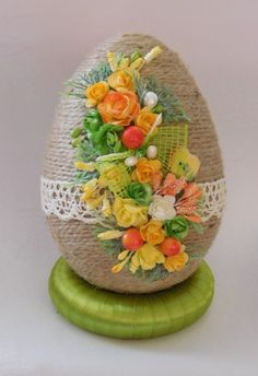 Happy Easter, Easter Bunny, Easter Eggs, Diy And Crafts, Arts And Crafts, Easter Crochet, Egg Art, Easter Crafts, Paper Goods