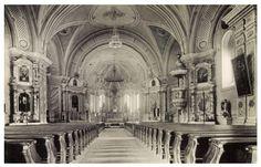 Csiksomlyó:templom belseje,1943. Notre Dame, Barcelona Cathedral, Building, Travel, Viajes, Buildings, Destinations, Traveling, Trips