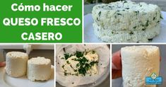 Cómo hacer QUESO FRESCO CASERO - Yo Soy Pachamamista Queso Fresco Recipe, Amish Friendship Bread, Health Diet, Side Dishes, Healthy Recipes, Cheese, Snacks, Youtube, Yahoo Search