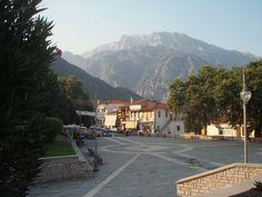 Konitsa, Konitsa municipality, Ioannina prefecture, Greece-Central square Central Square, Greece, Street View, Travel Europe, Places, Landscapes, Memories, Style, Greece Country