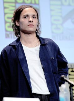 Frank Dillane/ Key, cousin of Logan and Dallas love interest