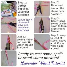 Bildergebnis für lavender wand
