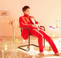 """EXO-CBX """"Blooming Days"""" album photo shoot for Chen #BloomingDays #EXO #CBX #Chen #EXO"""