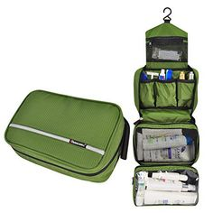 MLMSY Travel Toiletry Bag Cosmetic Organizers with Hangin