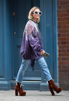 Blanca Miró en la London Fashion Week