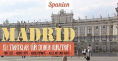 Alles für deinen Städtetrip nach Madrid: ▸Infos ▸ Sehenswürdigkeiten ▸ Must Sees ▸ Insider Tipps! Außerdem die besten Cafés, Bars und Restaurants in Madrid!