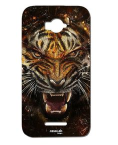 CUSTODIA COVER CASE TIGRE RUGGITO DISEGNO WILD PER ALCATEL POP C7