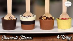 Hot Chocolate Gifts, Chocolate Covered Treats, Chocolate Sticks, Chocolate Diy, Christmas Hot Chocolate, Chocolate Spoons, Homemade Hot Chocolate, Chocolate Bomb, Hot Chocolate Bars
