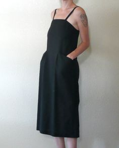 Vintage  CACHAREL Dress Made in FRANCE with by DEEEPWATERVINTAGE, $62.00
