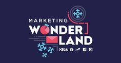 Join Us in a Marketing Wonderland on November Business Website, Business Tips, Email Marketing, Content Marketing, Holiday Emails, Small Business Administration, Responsive Email, Small Business Saturday, Newsletter Design