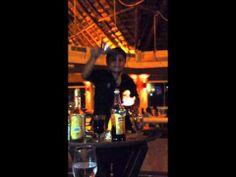 Flaming Mayan Coffee Ritual at the Hard Rock Hotel Riviera Maya (Toro Steak House) #cool #flames #video #coffee