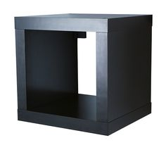 """EXPEDIT Shelving unit, black-brown, from IKEA, $19.99. 17 3/8""""x15 3/8""""x17 3/8"""""""