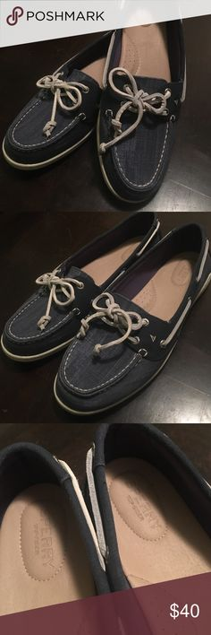 Sperry Top-sider Firefish Ripstop Canvas Shoes These Sperry Top-Sider shoes are size 11 and have only been worn twice. These very comfortable shoes are blue in color and were purchased for $80. No trades. Sperry Top-Sider Shoes Flats & Loafers