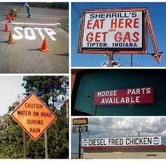 .pretty funny signs