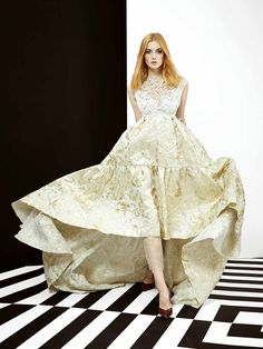 Dress, vestido, haute couture, evening ss 2016, yolancris, barcelona, dise | PRE-FALL 2016