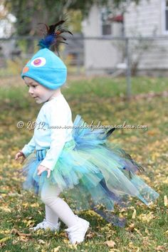 Peacock costume - so cute!