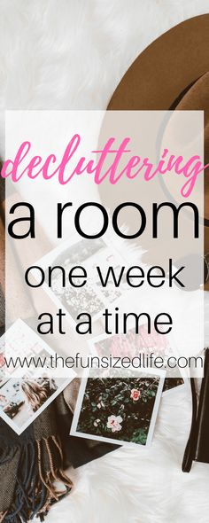 downsized, declutter, declutter step by step, how to start decluttering, spring cleaning, declutter one room, declutter my house