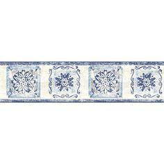 Sanitas 5 1 8 Medallion Prepasted Wallpaper Border