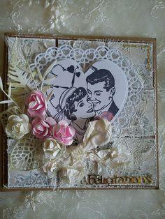 carte pour un mariage