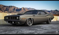 Pro touring Plymouth barracuda
