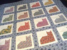 cat quilt!