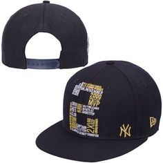 Derek Jeter New York Yankees New Era Youth Graffiti 2 9FIFTY Snapback Adjustable Hat – Navy Blue  I want this hat, like badly