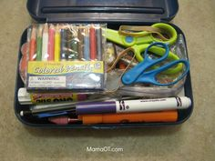What's in My Therapy Box?: 60+ Supplies for School-Based OTs