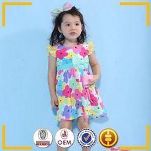 2015 mais recente projeto crianças roupas no verão meninas modernas vestidos