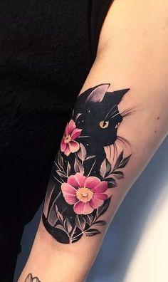 75 Bilder von Frauentattoos auf der Hand – Bilder und Tattoos … 75 pictures of women tattoos on hand – pictures and tattoos … Black Cat Tattoos, Sexy Tattoos, Cute Tattoos, Beautiful Tattoos, Body Art Tattoos, Sleeve Tattoos, Female Tattoos, Pretty Tattoos, Tatoos