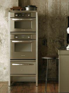 Baktoren van KitchenAid met stoomoven. Deze mooie combinatie van een oven…