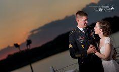 Wedding-Rick's Boatyard Cafe-military-photography by sarah crail