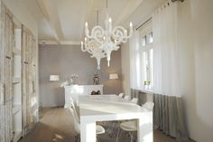 How pretty is this room! white everything...a dream