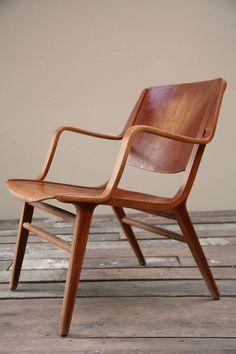 Peter Hvidt & Orla Mølgaard-Nielsen 'AX' Chair for Fritz Hansen 1947