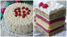 Полунично-маковий торт : Ням ням за 5 хвилин