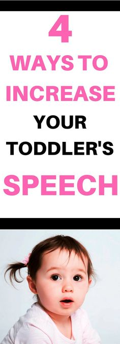 Simple Ways to Boost Your Toddler's Speech: Are you looking for activities to grow your toddlers vocabulary? Language activities that are built into your daily routines work great to grow vocabulary. Read about 4 simple strategies you can start using today to grow your toddler's vocabulary.